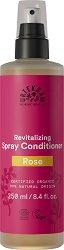 """Urtekram Rose Pure Indulgement Spray Conditioner - Био спрей балсам за коса с екстракт от роза от серията """"Rose"""" - пяна"""