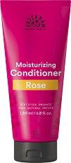 "Urtekram Rose Pure Indulgement Conditioner - Био балсам за коса от серията ""Rose"" - пяна"