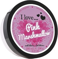 I Love Pink Marshmallow Body Butter - сапун