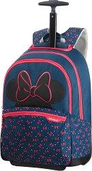 """Ученическа раница с колелца - Мини Маус - От серията """"Disney Ultimate"""" - чанта"""