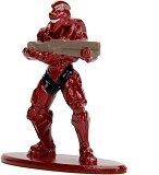 "Spartan Achilles - Фигура от серията ""HALO: Nano Metalfigs"" - раница"