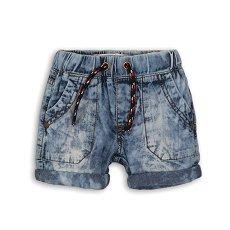Детски къс дънков панталон - 100% памук -