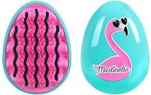 Четка за коса за лесно разресване - Фламинго -