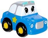 """Полицейска кола - Бебешка играчка от серията """"ABC"""" - чанта"""
