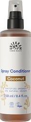 "Urtekram Coconut Normal Hair Spray Conditioner - Био спрей балсам за нормална коса с кокосов нектар от серията ""Coconut"" - балсам"