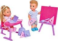 """Еви и Тими на училище - Кукли и аксесоари от серията """"Steffi Love"""" - кукла"""