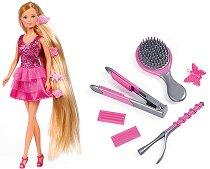 """Кукла Стефи с фризьорски аксесоари - Комплект за игра от серията """"Steffi Love"""" -"""