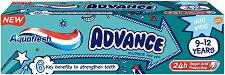 Aquafresh Advance Kids 9 - 12 Years - Детска паста за постоянни зъби -