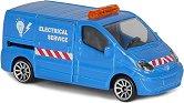 """Renault Trafic - Метална играчка с отвяряща се врата от серията """"City"""" -"""