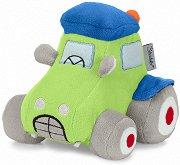 Кола - Tom - Плюшена играчка с дрънкалка -