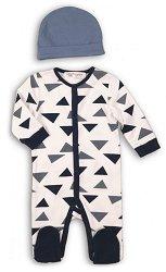 Бебешки комплект - 100% органичен памук -