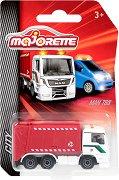 """Боклукчийски камион - MAN TGS - Метална количка с отварящ се контейнер от серията """"City"""" -"""