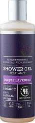"""Urtekram Purple Lavender Shower Gel - Био душ гел с екстракт от лавандула от серията """"Purple Lavender"""" - продукт"""