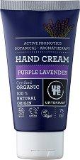"""Urtekram Purple Lavender Hand Cream - Био крем за ръце с екстракт от лавандула от серията """"Purple Lavender"""" - продукт"""