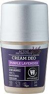 """Urtekram Purple Lavender Cream Deo - Био ролон дезодорант с екстракт от лавандула от серията """"Purple Lavender"""" - продукт"""