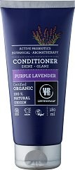 "Urtekram Purple Lavender Conditioner - Био балсам за коса с екстракт от лавандула от серията ""Purple Lavender"" - олио"