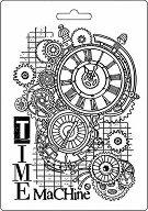 Шаблон - Машина на времето - Размер 14.8 x 21cm