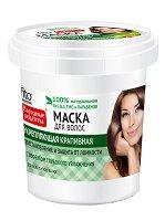 """Възстановяваща маска за всеки тип коса - От серията """"Народные рецепты"""" - гел"""