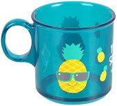 Синя чаша с дръжка - 170 ml - продукт