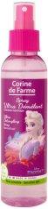 """Corine de Farme Frozen Ultra-Detangling Spray - Детски спрей за лесно разресване на косата от серията """"Замръзналото кралство"""" - душ гел"""
