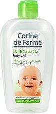 Corine de Farme Baby Body Oil - Бебешко олио за тяло с бадемово масло -