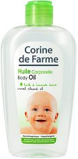 Corine de Farme Baby Body Oil - Бебешко олио за тяло с бадемово масло - крем