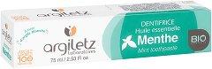 Argiletz Mint Toothpaste - Паста за зъби с бяла глина и мента - балсам