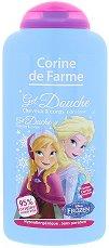 """Corine de Farme Frozen Shower Gel 2 in 1 - Детски душ гел за коса и тяло от серията """"Замръзналото кралство"""" -"""