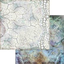 Хартии за скрапбукинг - Дървена кора - Размери 30.5 х 30.5 cm