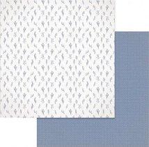 Хартии за скрапбукинг - Цветенца - Размери 30.5 х 30.5 cm
