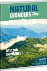 Ученическа тетрадка - Natural Wonders : Формат А5 с широки редове - 40 листа -