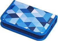 Несесер с ученически пособия - Blue Cubes -