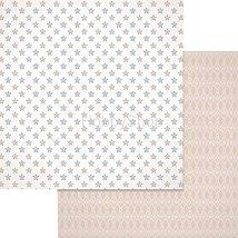 Хартии за скрапбукинг - Звезди - Размери 30.5 х 30.5 cm
