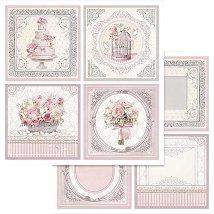 Хартии за скрапбукинг - Сватбен ден