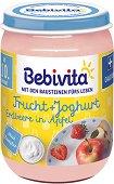 Bebivita - Био плодов дует с йогурт, ягоди и ябълки - продукт