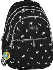 Ученическа раница - Back Up: N 81 - Комплект с ключодържател - играчка