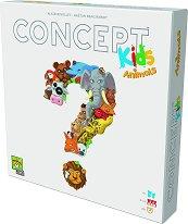 Concepts Kids - Животни - Настолна игра с асоциации -
