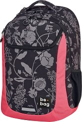 """Ученическа раница - Be.bag: Mystic Flowers - От серията """"Be.active"""" -"""