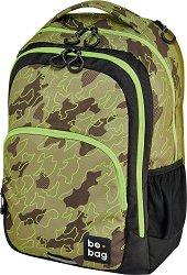 Ученическа раница - Be.bag: Abstract Camouflage - раница
