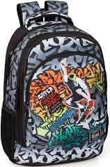 Ученическа раница - Delbag Graffiti Skate -