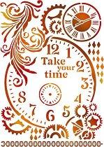 Шаблон - Време - С размери 21 x 29.7 cm