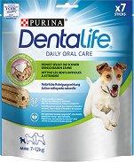 DentaLife Daily Oral Care Mini - Дентално лакомство за кучета от малки породи - опаковка от 7 броя - продукт