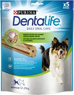 DentaLife Daily Oral Care Medium - Дентално лакомство за кучета от средни породи - опаковка от 5 броя -