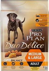 Purina Pro Plan Duo Delice Optibalance Chicken Medium & Large Adult -