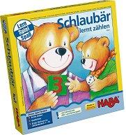 Умното мече се учи да брои - Детска образователна игра -