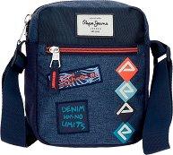 Чанта за рамо - Pepe Jeans: Paul - несесер