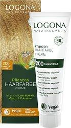 Logona Herbal Hair Color Cream - Био растителна крем боя за коса - крем