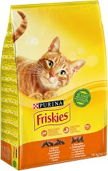 Friskies Cat with Chicken and Vegetables -