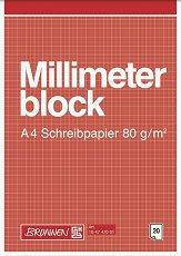 Блокче милиметрова хартия - Формат A4