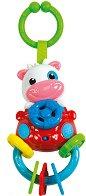 """Дрънкалка - Кравичка - Бебешка играчка със звуков ефект от серията """"Baby"""" -"""